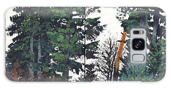 Pine And Fir Tree Forest Galaxy Case by Martin Stankewitz