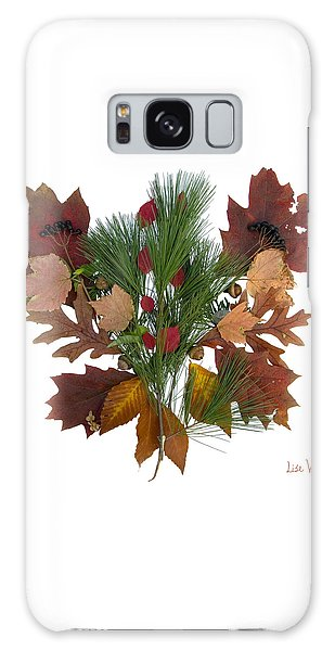 Pine And Leaf Bouquet Galaxy Case by Lise Winne