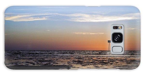 Pine Island Sunset Galaxy Case