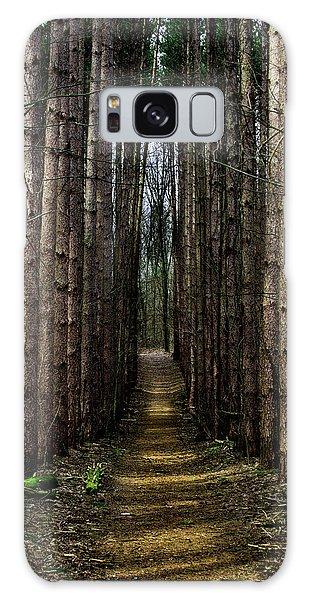 Pine Path  Galaxy Case