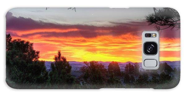 Pine Sunrise Galaxy Case
