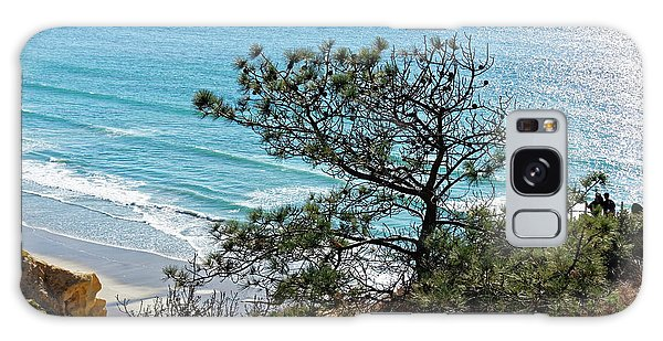 Pine Tree On Coast Galaxy Case