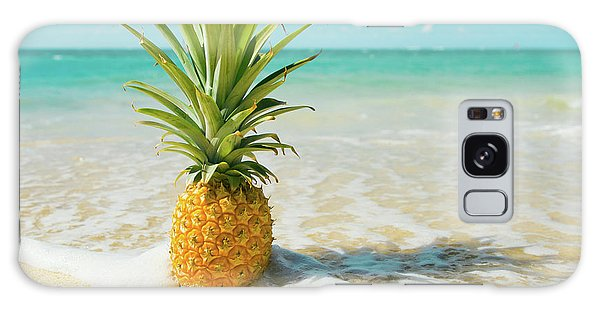 Galaxy Case featuring the photograph Pineapple Beach by Sharon Mau