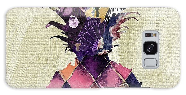 Tapestry Galaxy Case - Pineapple Brocade II by Mindy Sommers