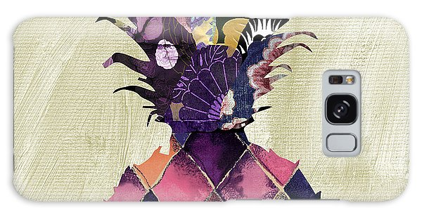 Pineapple Brocade II Galaxy Case by Mindy Sommers