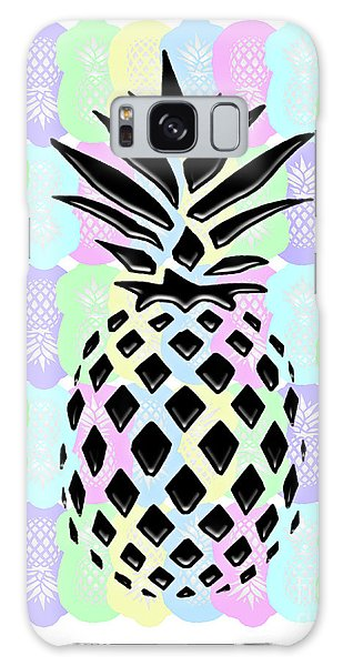 Pineapple Collage Galaxy Case