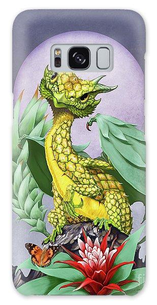 Pineapple Dragon Galaxy Case by Stanley Morrison