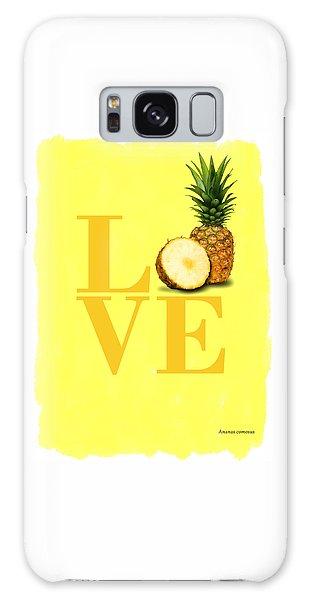 Pineapple Galaxy Case by Mark Rogan