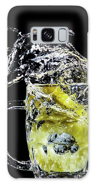 Galaxy Case featuring the photograph Pineapple Splash by Ray Shiu