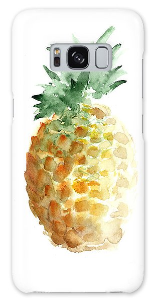 Pineapple Watercolor Minimalist Painting Galaxy Case