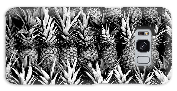 Pineapples In B/w Galaxy Case