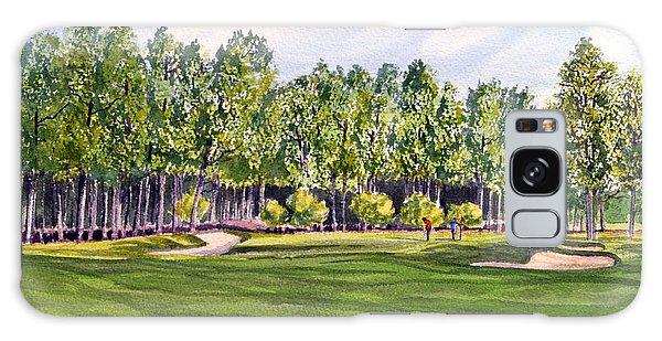 Pinehurst Golf Course 17th Hole Galaxy Case