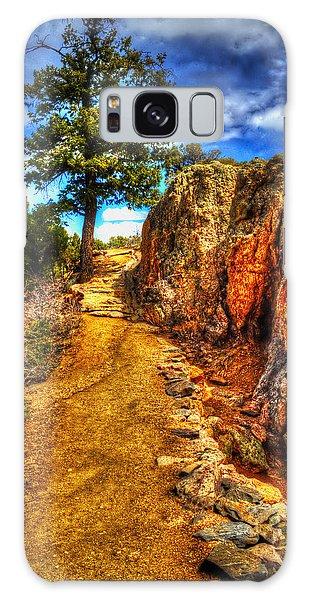 Ponderosa Pine Guarding The Trail Galaxy Case