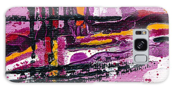 Pink Abstraction Galaxy Case