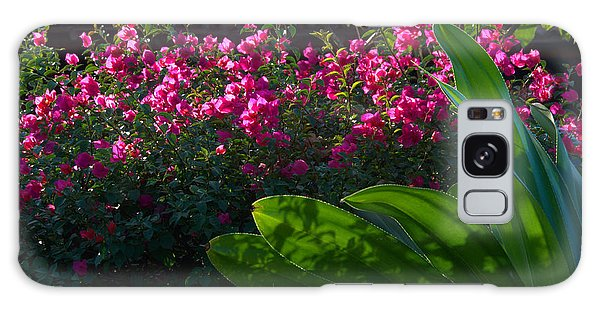 Pink And Green Galaxy Case by Jim Walls PhotoArtist