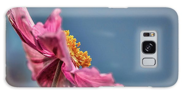 Galaxy Case featuring the photograph Pink And Yellow Profile #h8 by Leif Sohlman