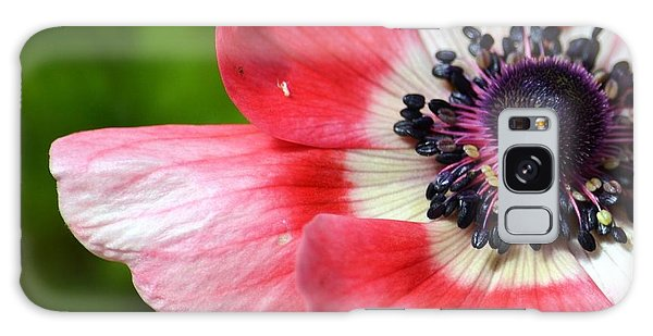 Pink Anemone Flower Galaxy Case by P S