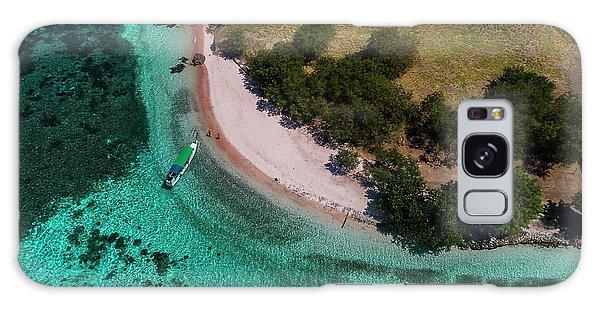 Galaxy Case featuring the photograph Pink Beach Island, Flores by Pradeep Raja PRINTS