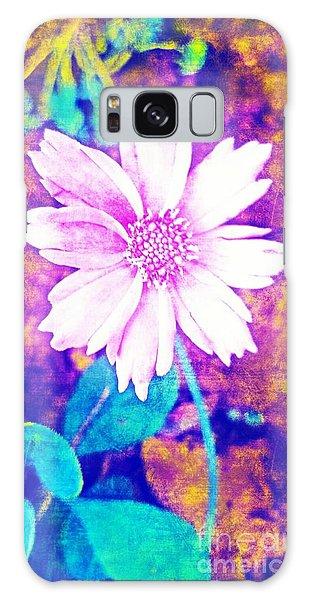 Pink Bloom Galaxy Case by Rachel Hannah