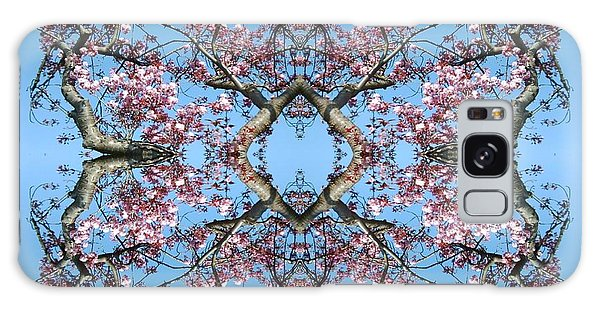 Pink Blossom Mandala Galaxy Case