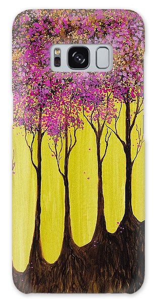Pink Blossoms Galaxy Case