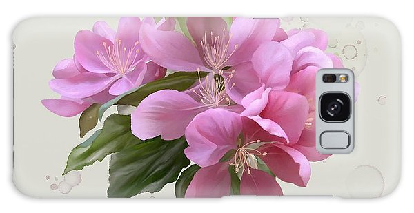 Pink Blossoms Galaxy Case by Ivana Westin