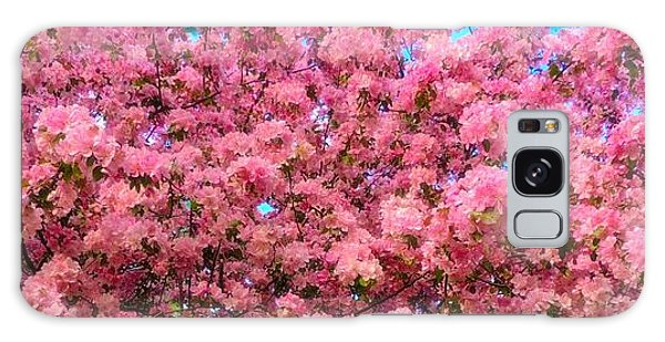 Pink Blossoms Of Spring Galaxy Case