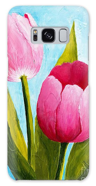 Pink Bubblegum Tulip II Galaxy Case