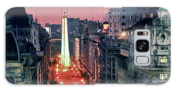 Pink Buenos Aires  Galaxy Case
