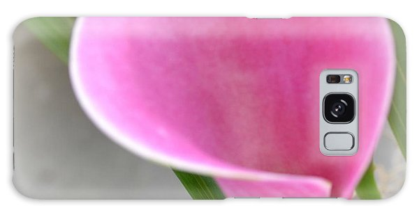 Pink Calla Lily Galaxy Case by P S