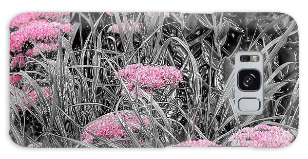 Pink Carved Cowslip Galaxy Case
