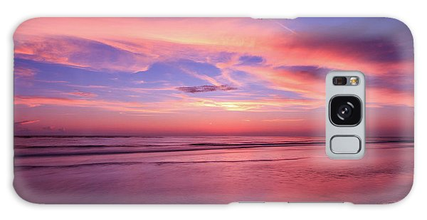 Pink Sky And Ocean Galaxy Case