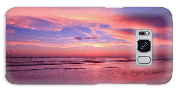 Galaxy Case featuring the photograph Pink Sky And Ocean by Doug Camara