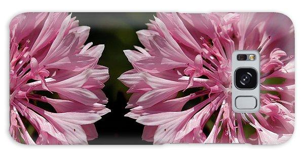 Pink Cornflowers Galaxy Case