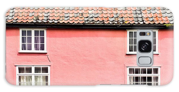 Bury St Edmunds Galaxy Case - Pink Cottage by Tom Gowanlock