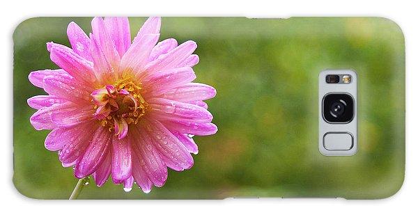 Pink Dahlia 1 Galaxy Case