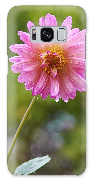 Pink Dahlia 2 Galaxy Case