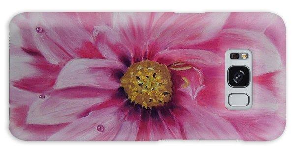 Pink Dahlia I Galaxy Case
