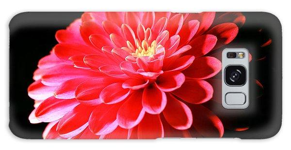 Pink Dahlia1 Galaxy Case