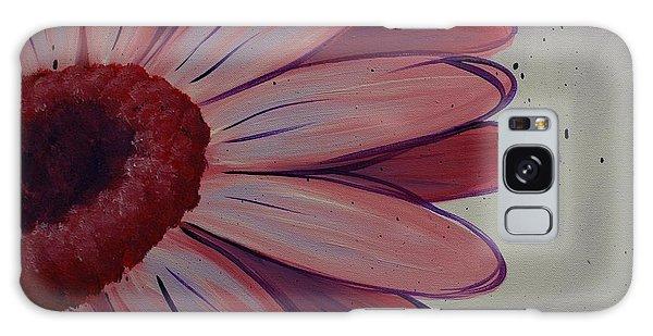 Pink Daisy Galaxy Case