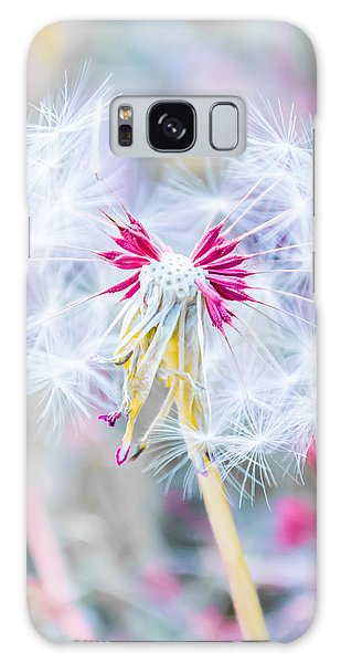 Bedroom Galaxy Case - Pink Dandelion by Parker Cunningham