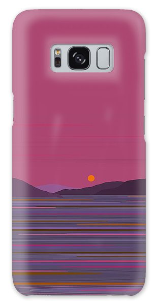 Pink Dawn Galaxy Case by Val Arie