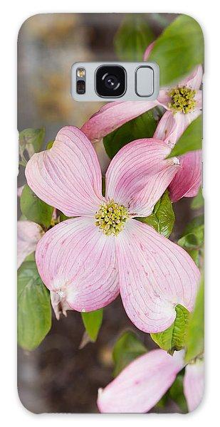 Pink Dogwood Galaxy Case