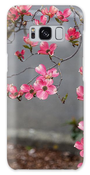Pink Dogwoods Galaxy Case