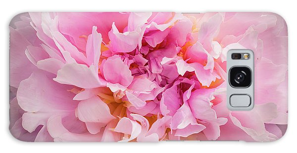 Pink Double Peony Galaxy Case