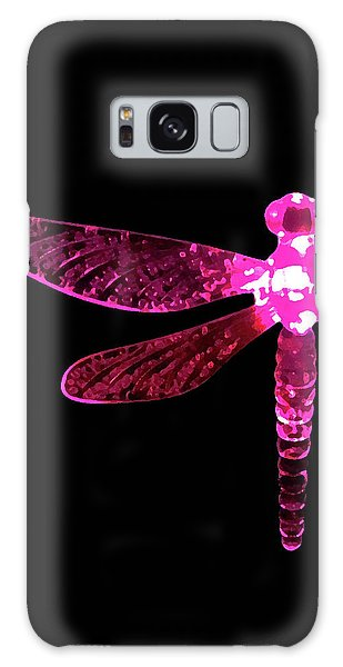 Pink Dragonfly Galaxy Case
