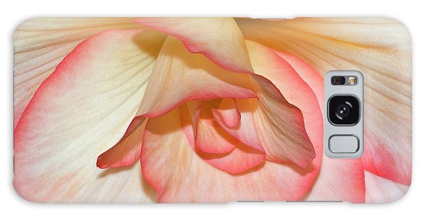 Pink-edged Begonia Galaxy Case by Robert Shard