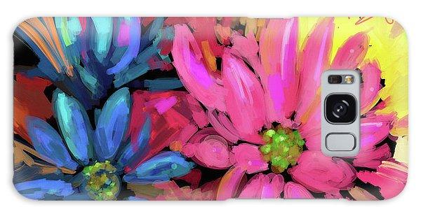 Pink Flower Galaxy Case by DC Langer