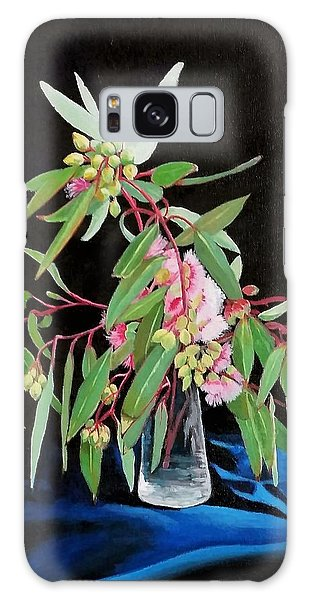 Pink Flowering Gum Galaxy Case