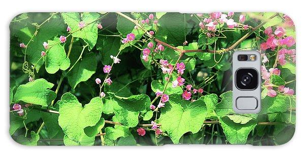 Pink Flowering Vine2 Galaxy Case